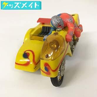 当時物 現状 ポピー 超合金 人造人間キカイダー ミニミニ サイドマシーン 最終版 買取