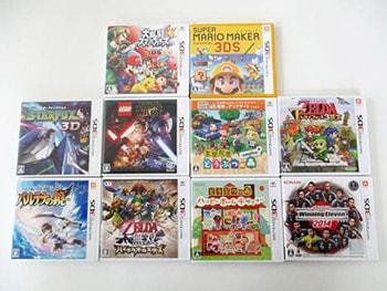 3DSソフト スーパーマリオメーカー  どうぶつの森 ハッピーホームデザイナー 等 ゲーム買取