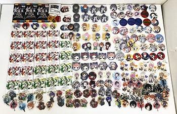 ヒプノシスマイク ライブ缶バッジコレクション、ラスカルアクリルキーホルダー、ラバーストラップ 他買取