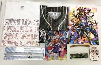 マクロスΔ WALKURE ワルキューレLIVE2018 グッズ Tシャツ , ペンライト , パスケース 他