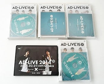 AD-LIVE'15 アドリブ2015 03巻~06巻 DVD / AD-LIVE 2014 DVD買取