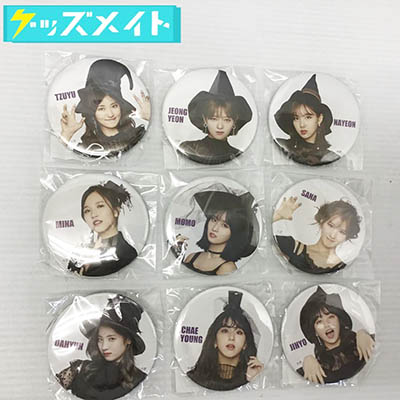TWICE ONE MORE TIME ハイタッチ会 缶バッジ 全9種 買取