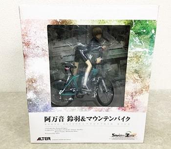 アルター シュタインズゲート 1/8 阿万音鈴羽&マウンテンバイク