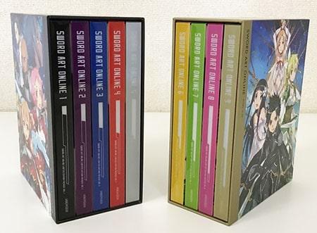 SWORD ART ONLINE ソードアート・オンライン ブルーレイ 1~9巻買取