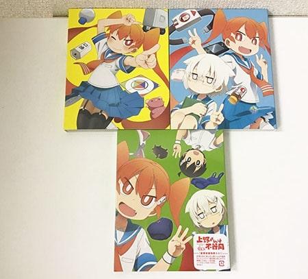 上野さんは不器用 1~3巻 Blu-ray ブルーレイ買取