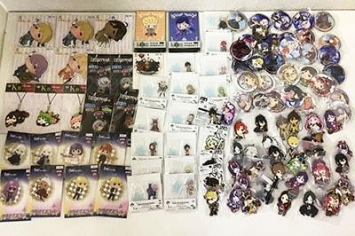 Fate/Grand Order FGO 一番くじ アクリルスタンド、バーストラップ、缶バッジ、クリアマスコット、ビッグタグ他買取