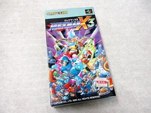 ロックマンX3  スーパーファミコン ゲーム買取