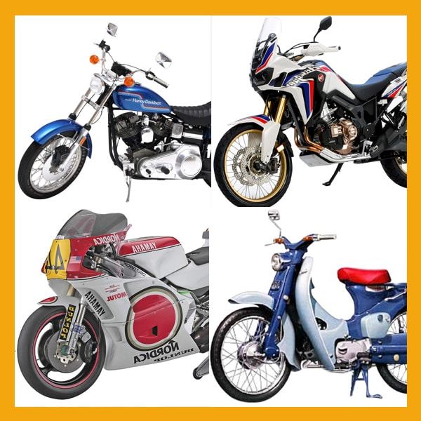 バイクプラモデル買取