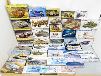 大量 戦車プラモデル買取