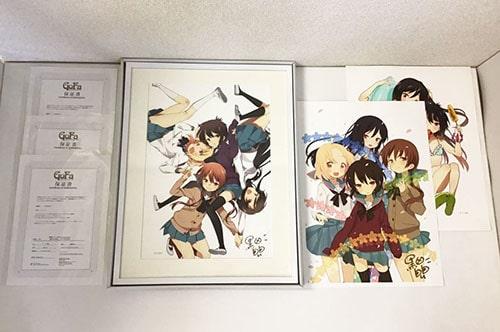 黒田bb Aチャンネル展 限定 アートグラフ A 1/50 , B 4/50 , 描き下ろし 買取
