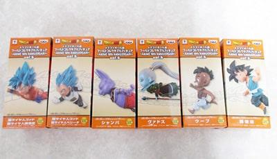 ドラゴンボール超 ワールドコレクタブルフィギュア ANIME 30th ANNIVERSARY Vol.6 全6種コンプ 買取