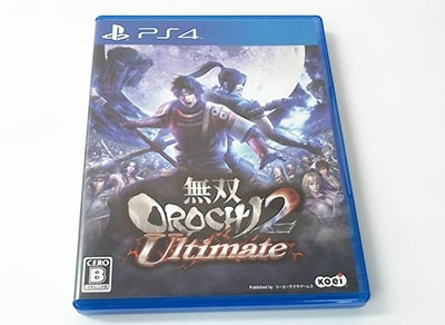 PS4 ソフト 無双OROCHI2 Ultimate  買取