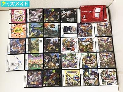 INTENDO 任天堂 2DS 本体 レッド、3DSソフト、DSソフト、ドラゴンクエストモンスターズ3、二ノ国 他 買取
