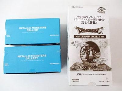 SQEX TOYS ドラゴンクエスト マップジオラマコレクション メタリックモンスターズ さまようよろいなど買取