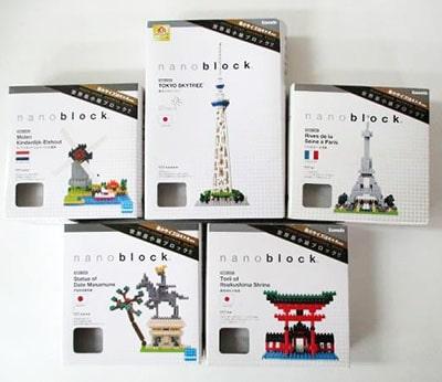 ナノブロック nano block 東京スカイツリー  厳島神社鳥居 など買取