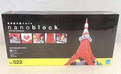 ナノブロック NB-022 東京タワー DXエディション買取
