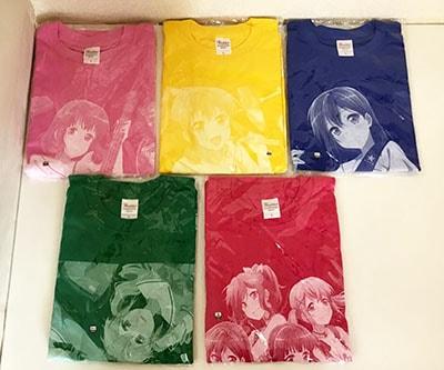 ゲーマーズ限定 BanG Dream! バンドリ キャラクター複製サイン入りオリジナルTシャツ買取
