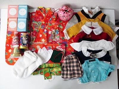 ペコちゃん 服・衣装、 貯金箱など買取