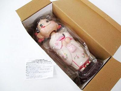 不二家のペコちゃん人形 首ふり きもの買取