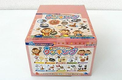 リーメント ぷちサンプルシリーズ ママといっしょにクッキング 10箱入りBOXコンプ買取