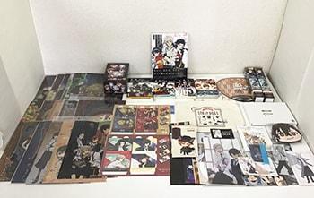 文豪ストレイドッグス 公式ガイドブック 煙霧録、クリアファイル、コレクションフィギュア、文庫、ミニトート グッズ 他買取