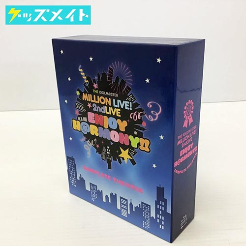 ブルーレイ アイドルマスター THE IDOLM@STER MILLION LIVE! 2ndLIVE ENJOY H@RMONY!! COMPLETE THE@TER 買取