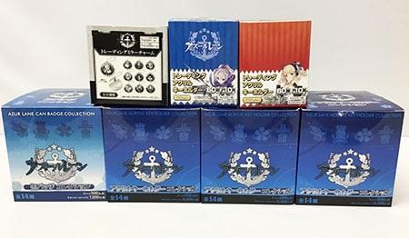 アズールレーン トレーディングアクリルキーホルダー VOL.1 VOL.2 缶バッジコレクション ミラーチャームアニメグッズ買取