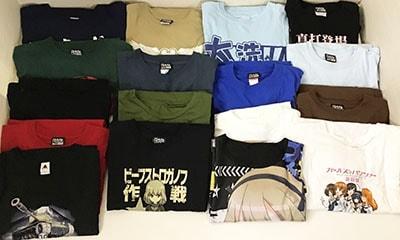 ガールズ&パンツァー Tシャツ 18点買取