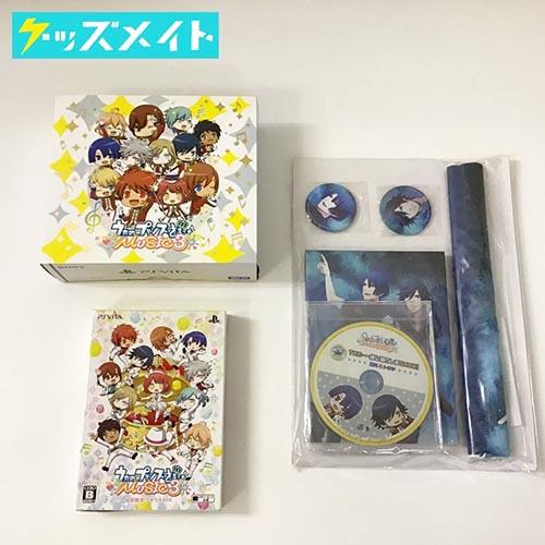 PSVITA 本体 うたの☆プリンスさまっ♪ MUSIC3マスコットキャラクターズ 刻印モデル , ソフト 初回限定 ウキウキBOX 他 買取