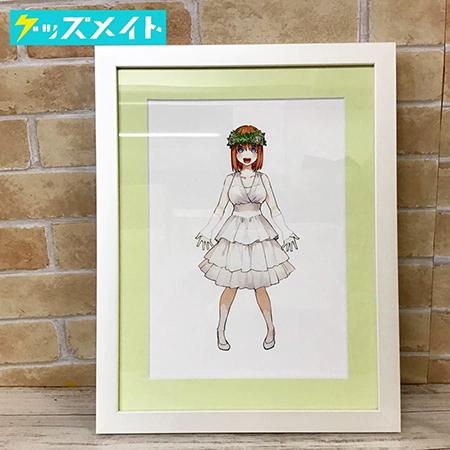 五等分の花嫁展 描き下ろしイベントビジュアル ミストグラフ 中野四葉買取