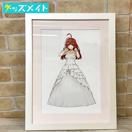 五等分の花嫁展 描き下ろしイベントビジュアル ミストグラフ 中野五月 買取