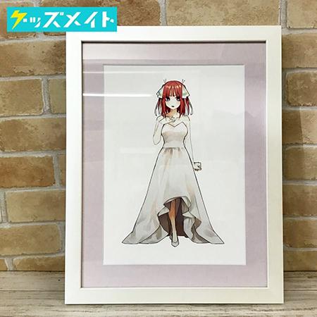 五等分の花嫁展 描き下ろしイベントビジュアル ミストグラフ 中野二乃 買取