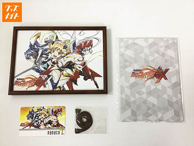 nanacoカード 戦姫絶唱シンフォギアGX 額装イラスト セブンイレブン 買取