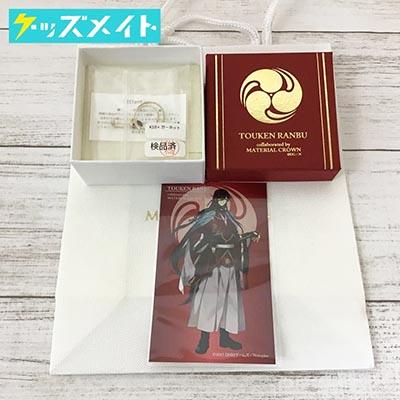 刀剣乱舞 -ONLINE- × MATERIAL CROWN コラボ 和泉守兼定イメージピアス K10×ガーネット 買取