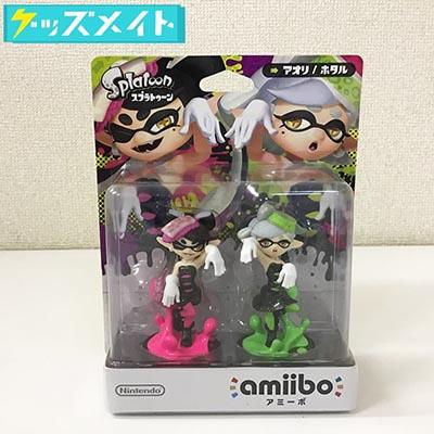 【未開封】Nintendo amiibo アミーボ Splatoon スプラトゥーン アオリ/ホタル シオカラーズ 買取