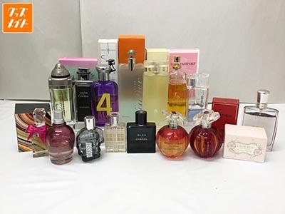 香水 シャネル、カルティエ、ゲラン、ディーゼル、フェラガモ、ポールスミス、ランコム 他買取