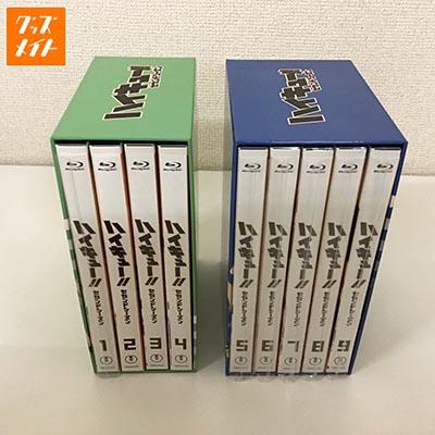 BD ハイキュー!! セカンドシーズン 全9巻セット(BOX付)買取