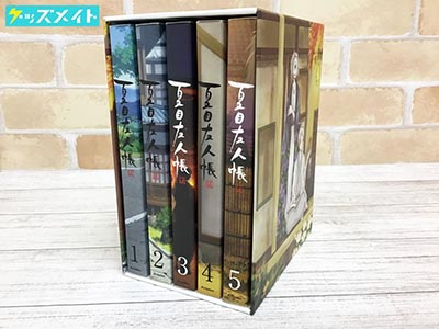 ブルーレイ 夏目友人帳 伍 初回生産限定版 全5巻セット 収納BOX付き 買取