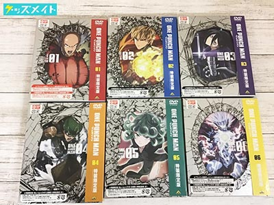 DVD ONE PUNCH MAN ワンパンマン 特装限定版 全6巻セット 買取